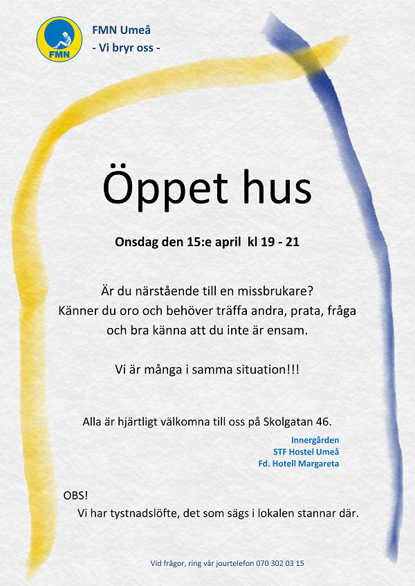 Öppethus 150415