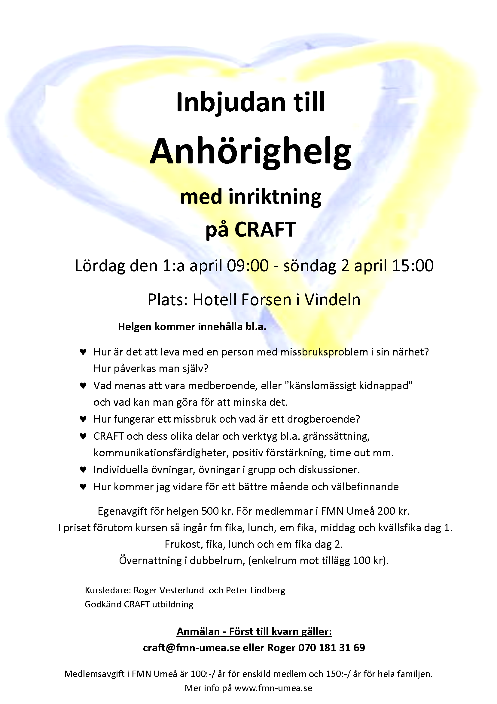 byrå vän narkotika nära Umeå